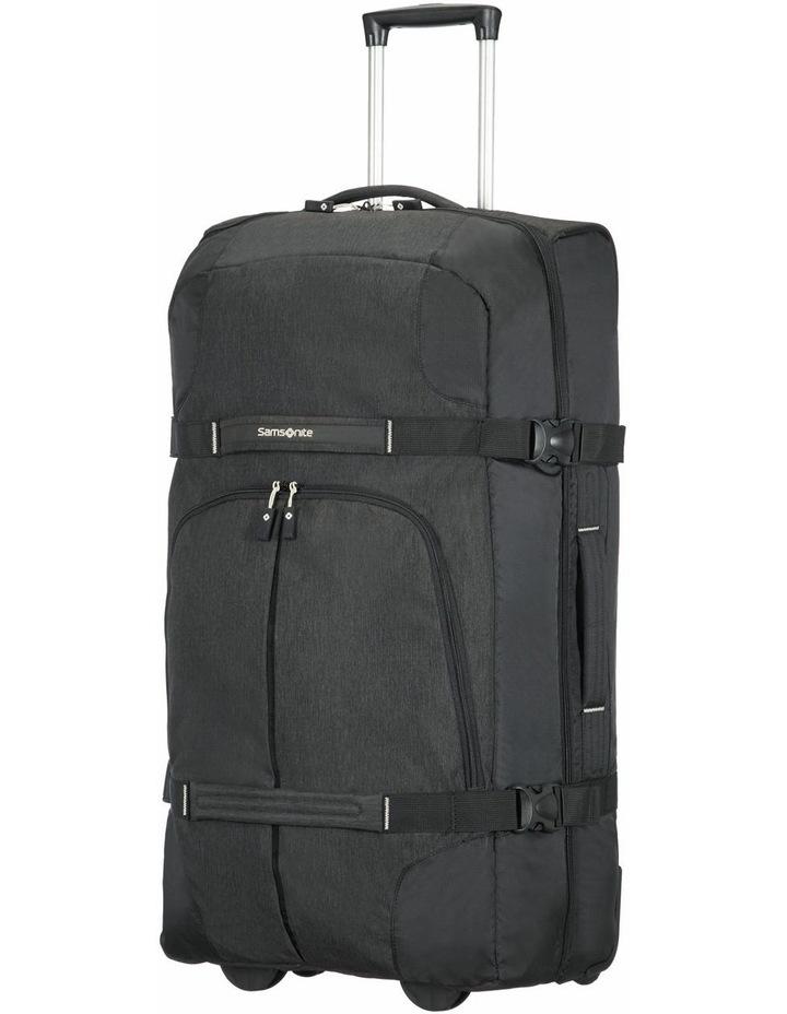 Rewind 82cm 113L Wheeled Duffle Bag in Black image 1
