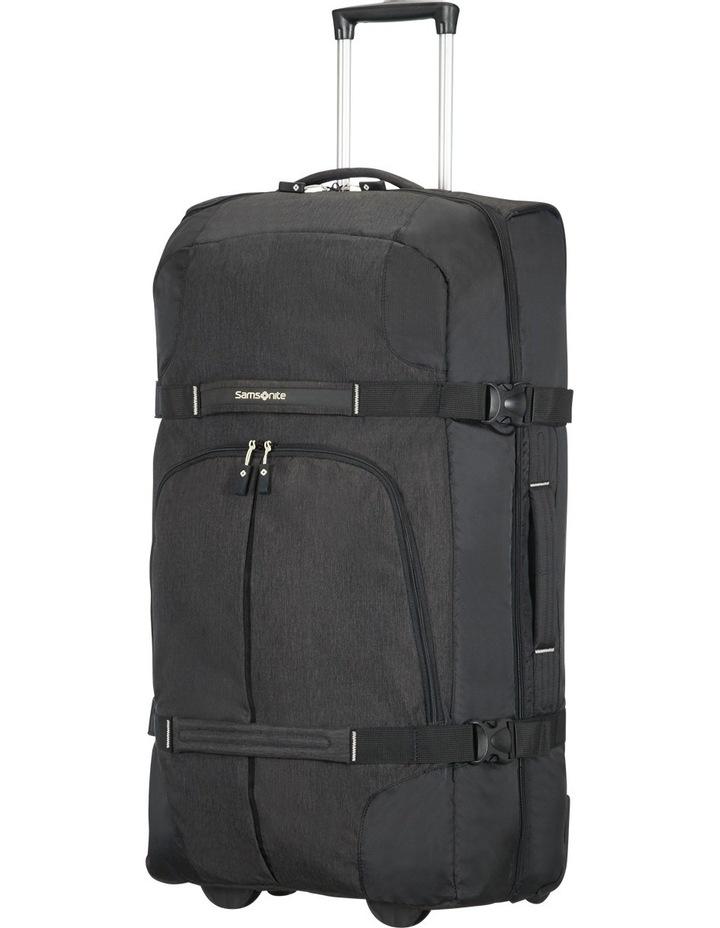 Rewind 82cm 113L Wheeled Duffle Bag in Black image 2
