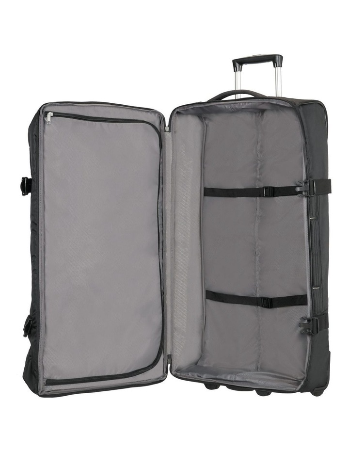 Rewind 82cm 113L Wheeled Duffle Bag in Black image 3