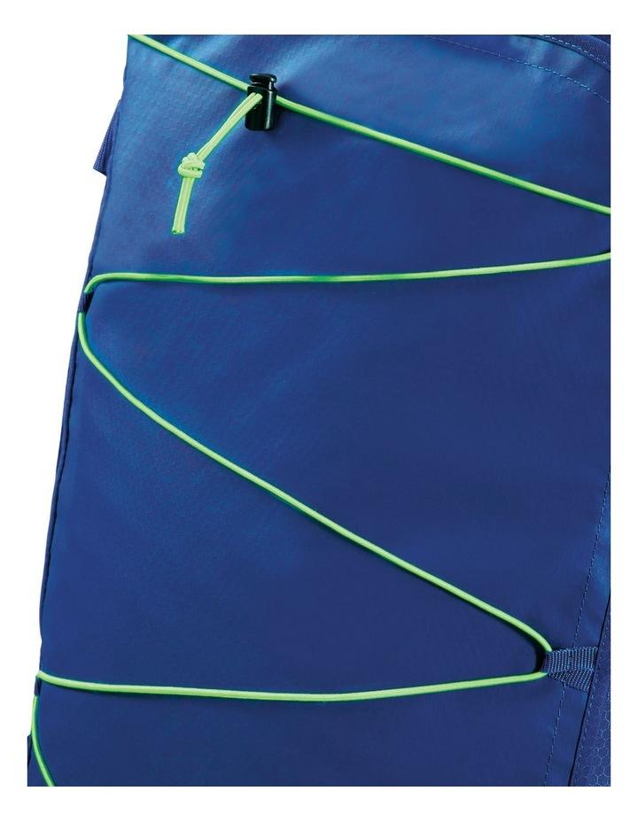 Road Quest 55cm :41L Wheeled Duffle: Blue/Lime image 4