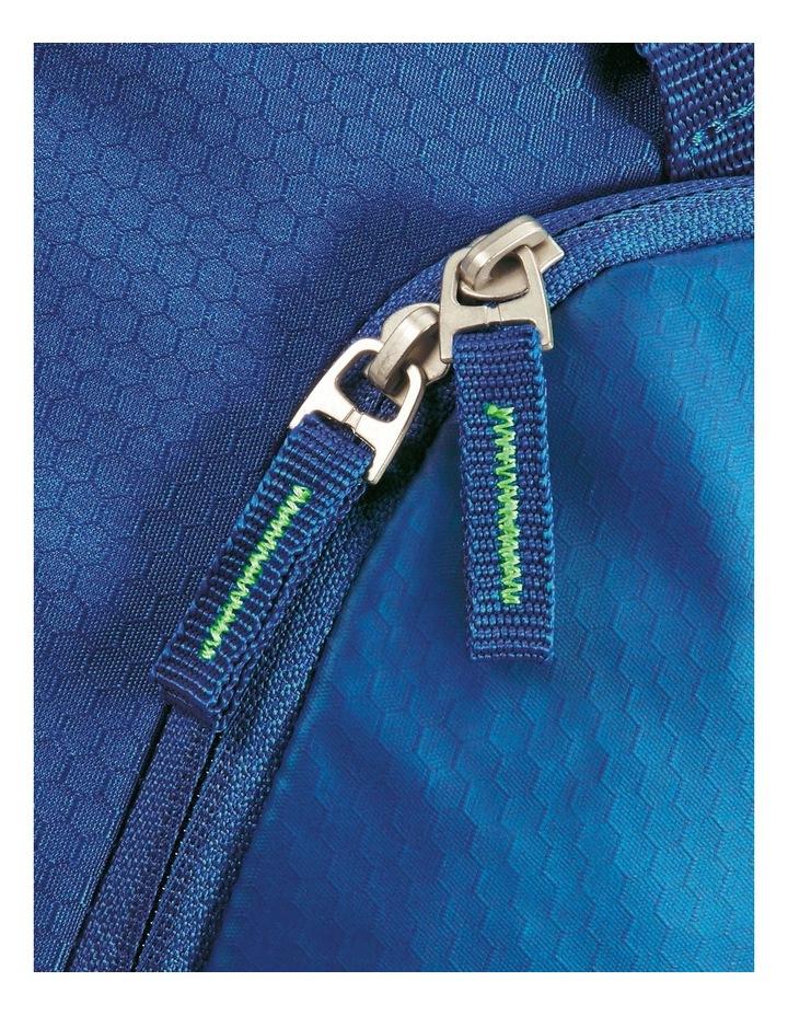Road Quest 55cm :41L Wheeled Duffle: Blue/Lime image 7