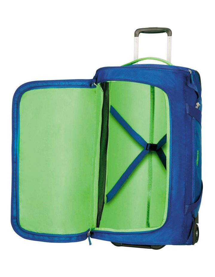 Road Quest 68cm :72L Wheeled Duffle: Blue/Lime image 2