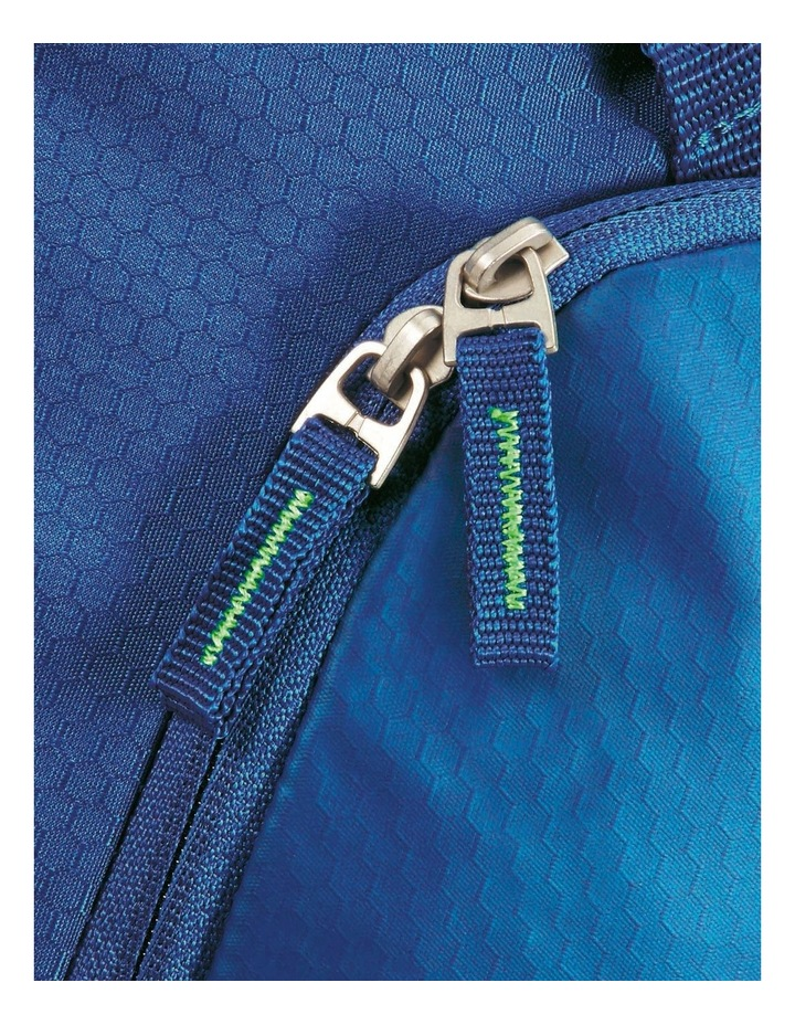 Road Quest 68cm :72L Wheeled Duffle: Blue/Lime image 7
