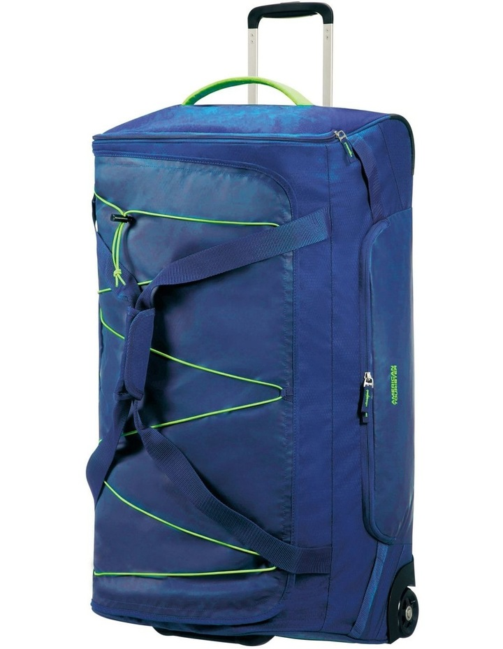 Road Quest 80cm :116L Wheeled Duffle: Blue/Lime image 1