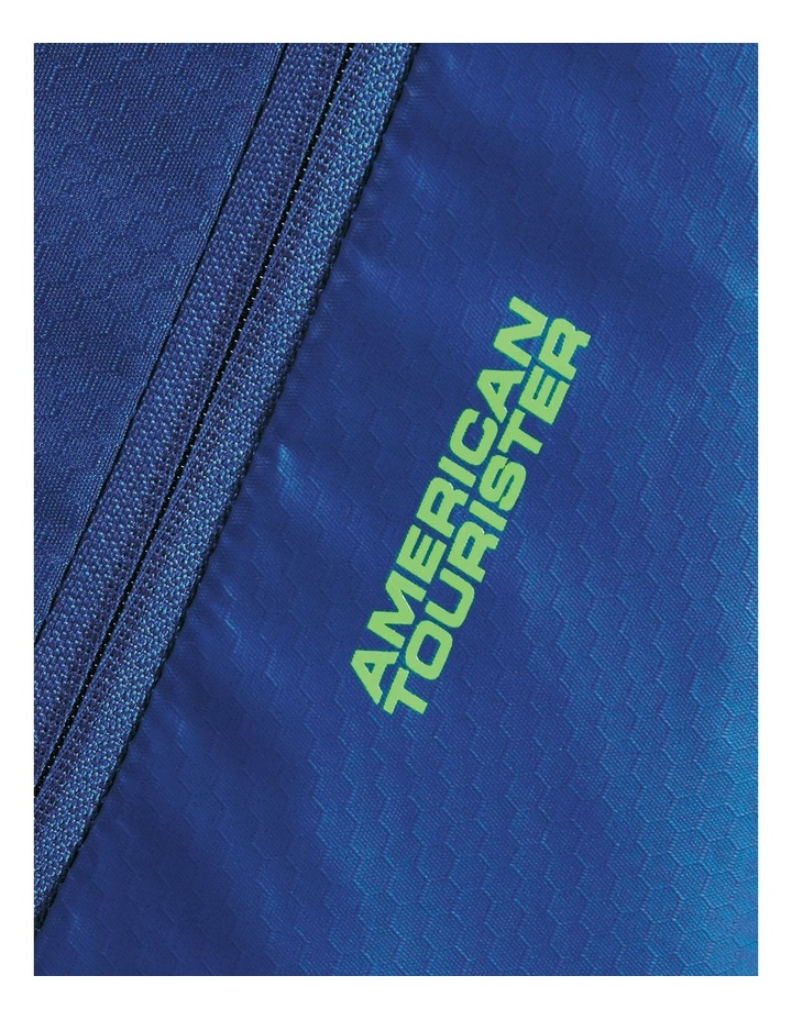 Road Quest 80cm :116L Wheeled Duffle: Blue/Lime image 3