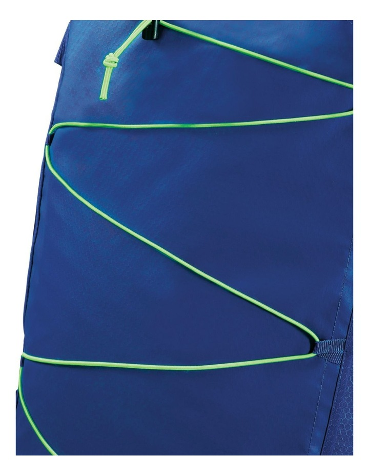 Road Quest 80cm :116L Wheeled Duffle: Blue/Lime image 4