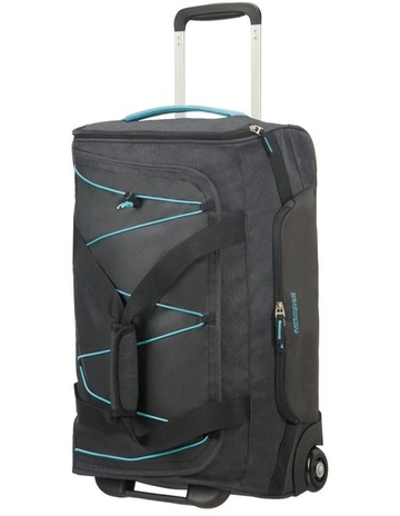 fe42a122b1 American TouristerRoad Quest 55cm :41L Wheeled Duffle: Graphite/Turquoise
