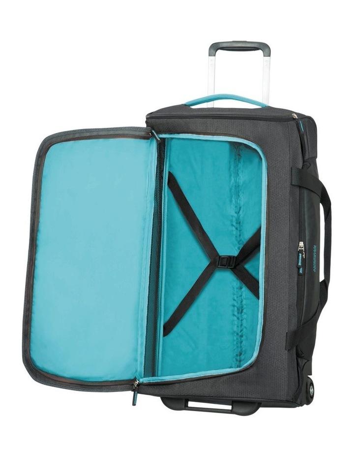 Road Quest 68cm :72L Wheeled Duffle: Graphite/Turquoise image 2