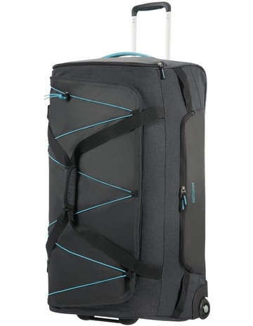 c64a300b24 American TouristerRoad Quest 80cm :116L Wheeled Duffle: Graphite/Turquoise