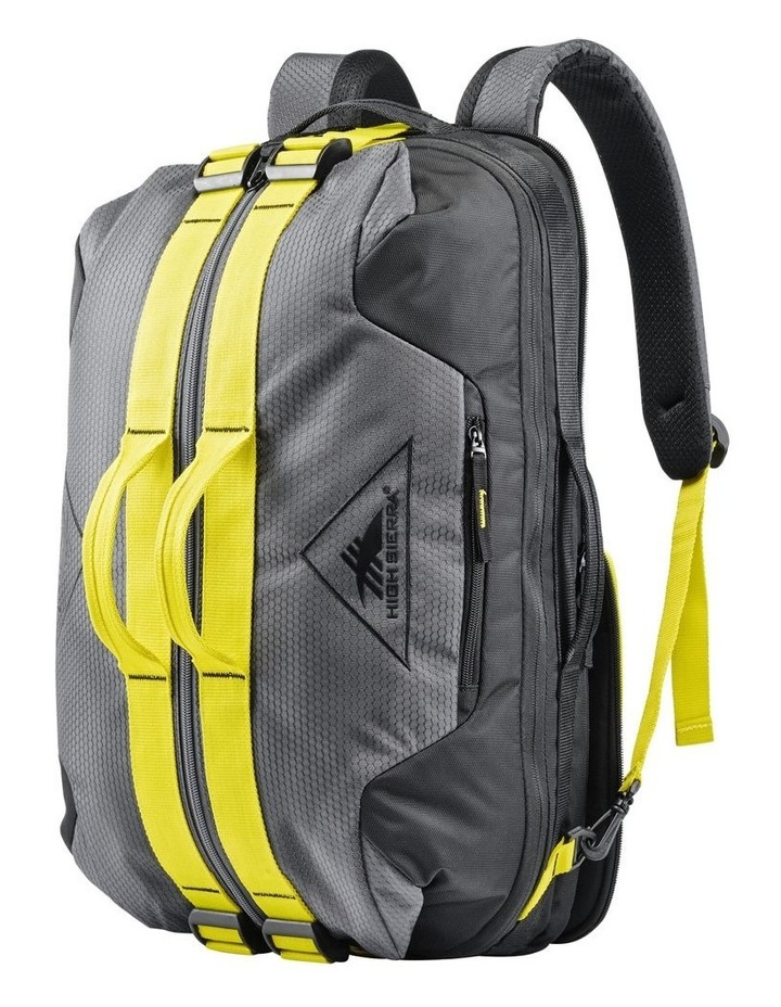 Dells Canyon Convertible Duffle - Black/Yellow image 6