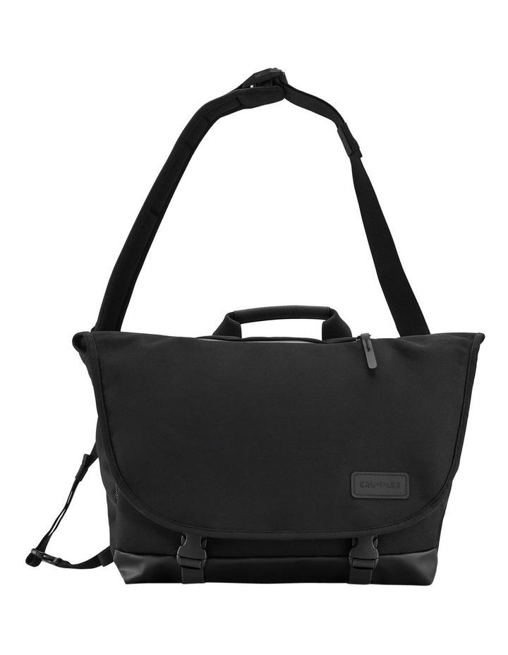 The Chronicler Plus Messenger Bag Black image 1