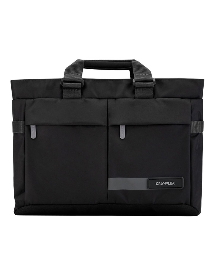 Passage Briefcase: Black image 1