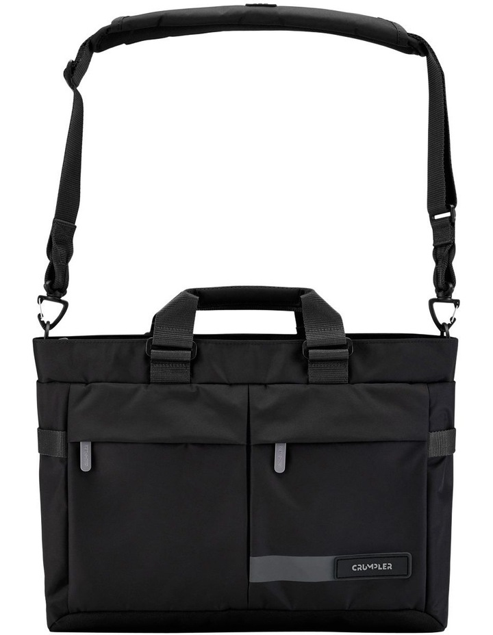 Passage Briefcase: Black image 2