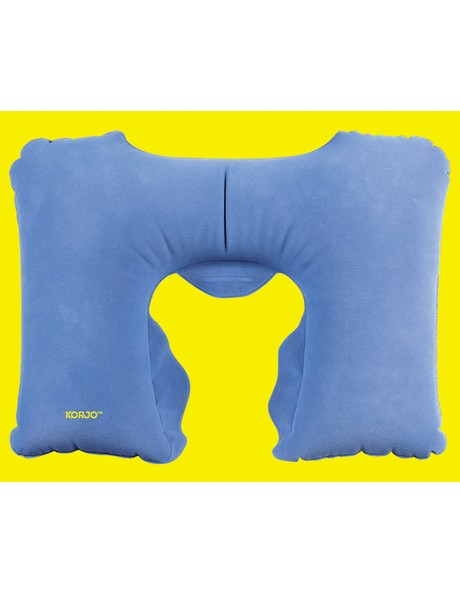 Infaltable Travel Pillow with Sleeping Mask image 1
