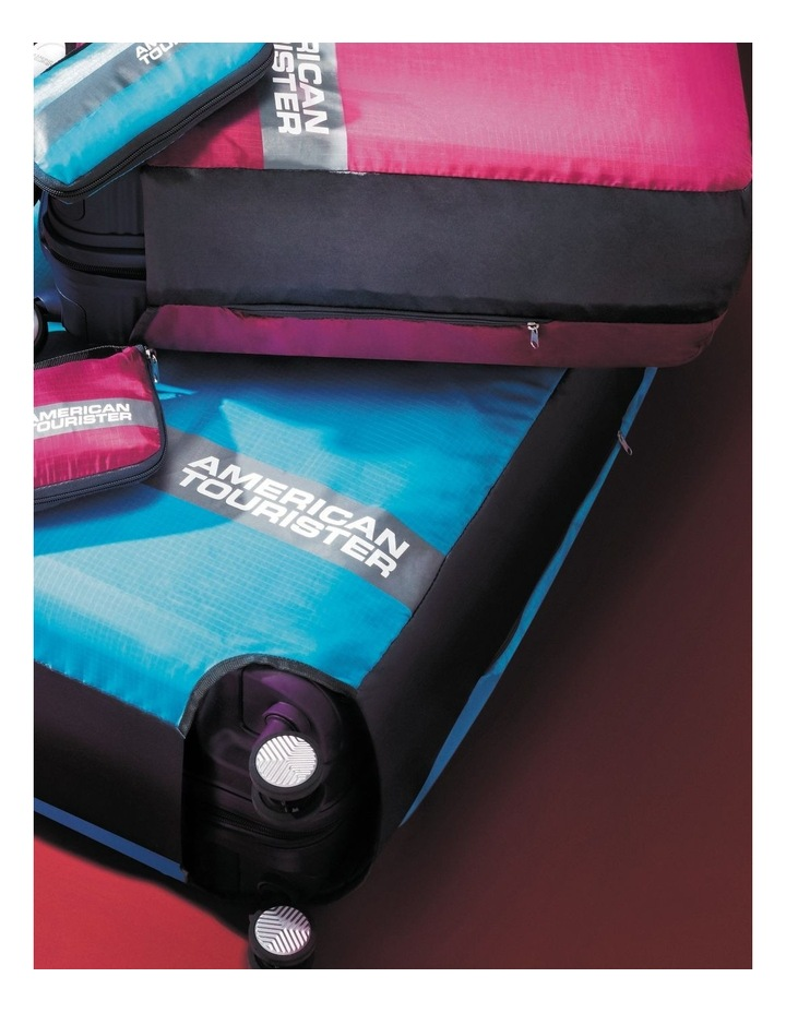 Foldable Luggage Cover - Pink image 1