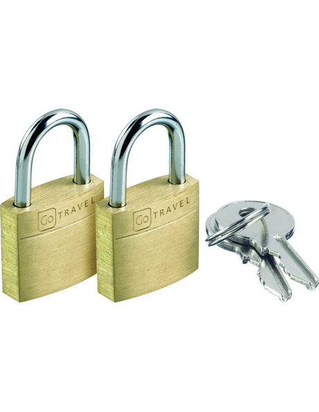 171 Case Lock Twin:Brass image 1