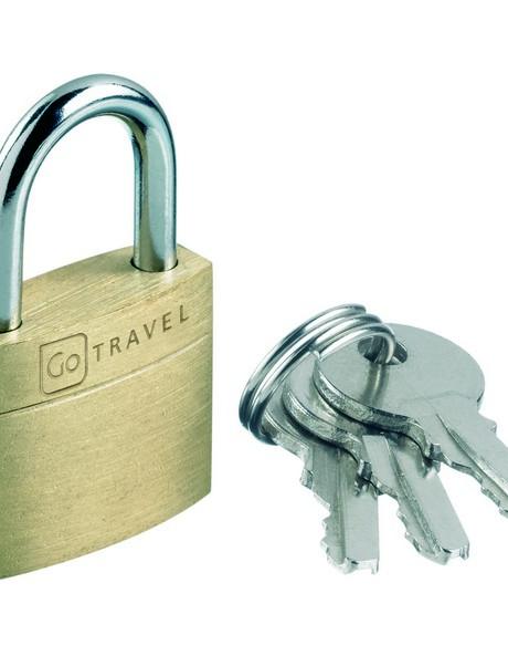 170 Case Lock Single:Brass image 1
