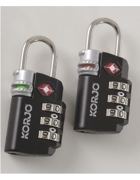 TSA 72 TSA Compliant Lock/Indicator: Asst image 2