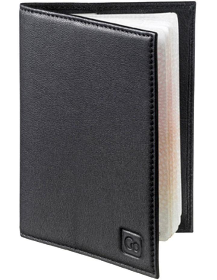 672 RFID Passport Cover: Black image 2