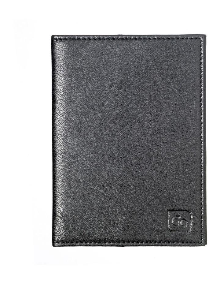 672 RFID Passport Cover: Black image 3