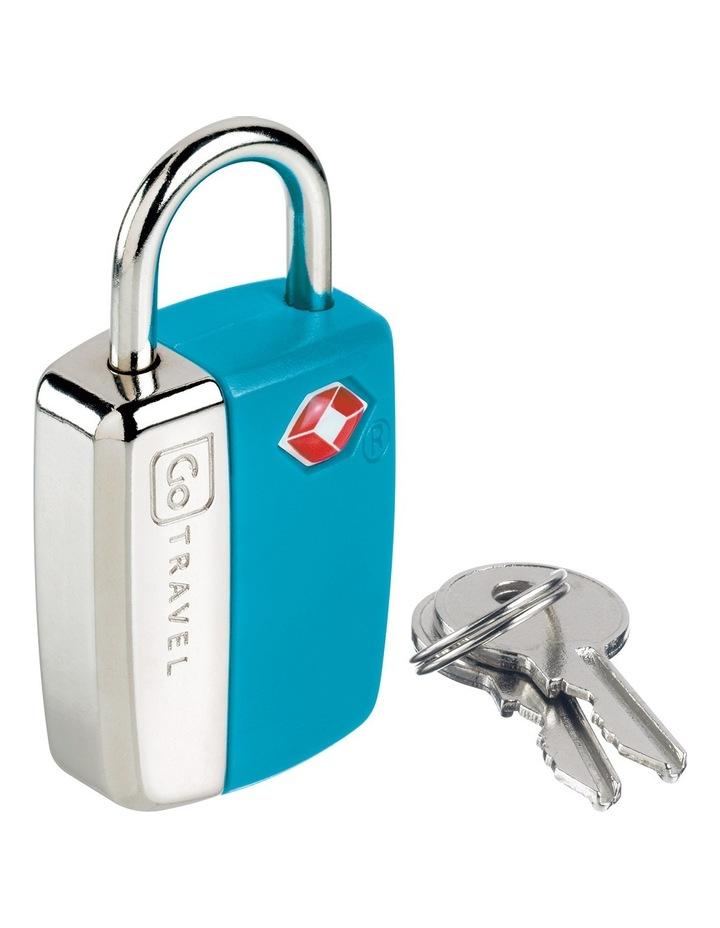 Glo Travel Sentry Lock - Blue image 1