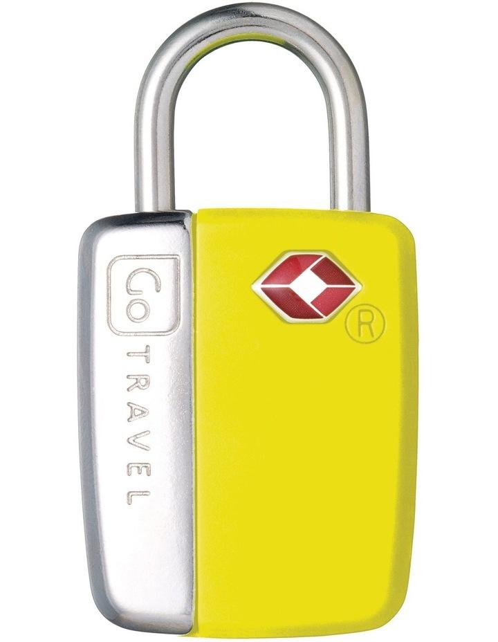 Glo Travel Sentry Lock - Yellow image 1