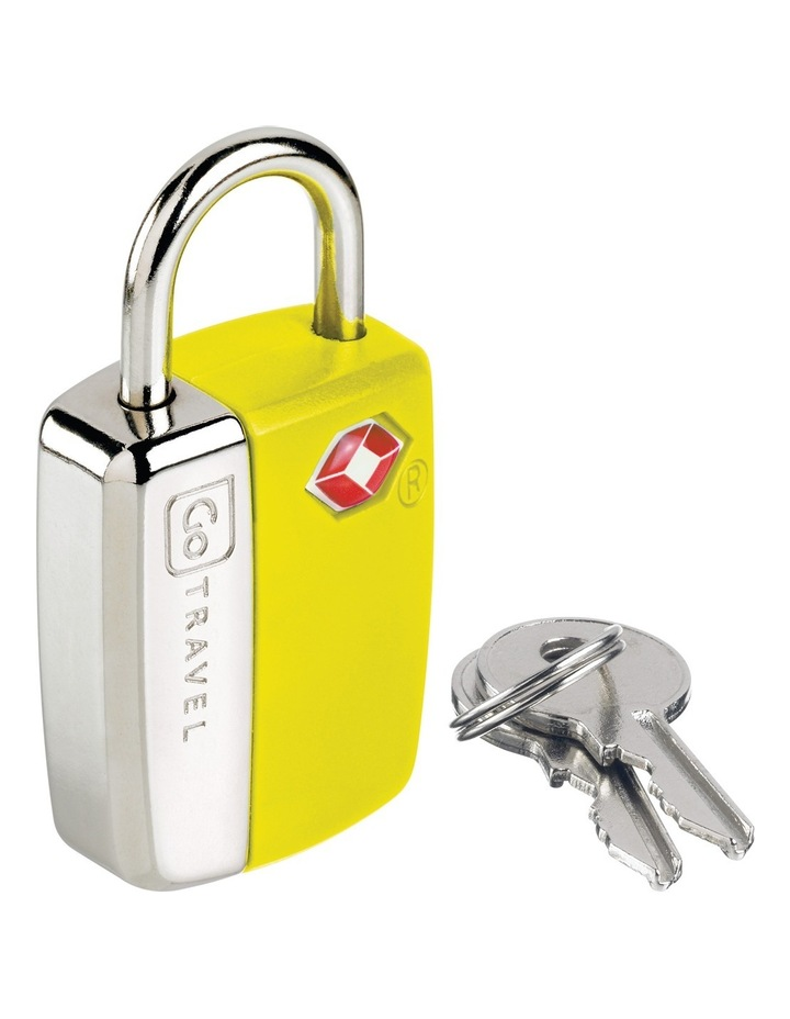 Glo Travel Sentry Lock - Yellow image 2