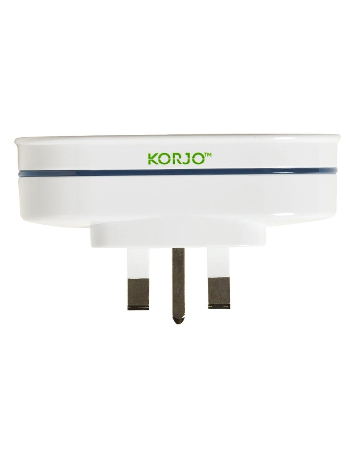 AU TravelDouble Adaptor for  UK  parts of South East Asia  Middle East and Africa image 1
