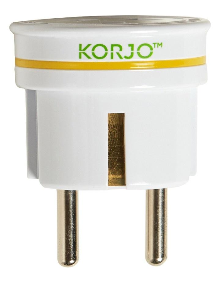 KA EU Europe Plug Adaptor image 1