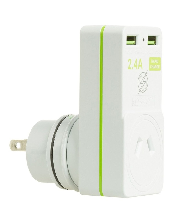 AUS & Japan USB & Power Adaptor image 1