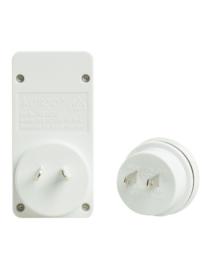 AUS & Japan USB & Power Adaptor image 3