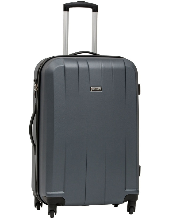 Quadlite Hardside Spinner Case Medium 72cm Charcoal 3.8kg image 1