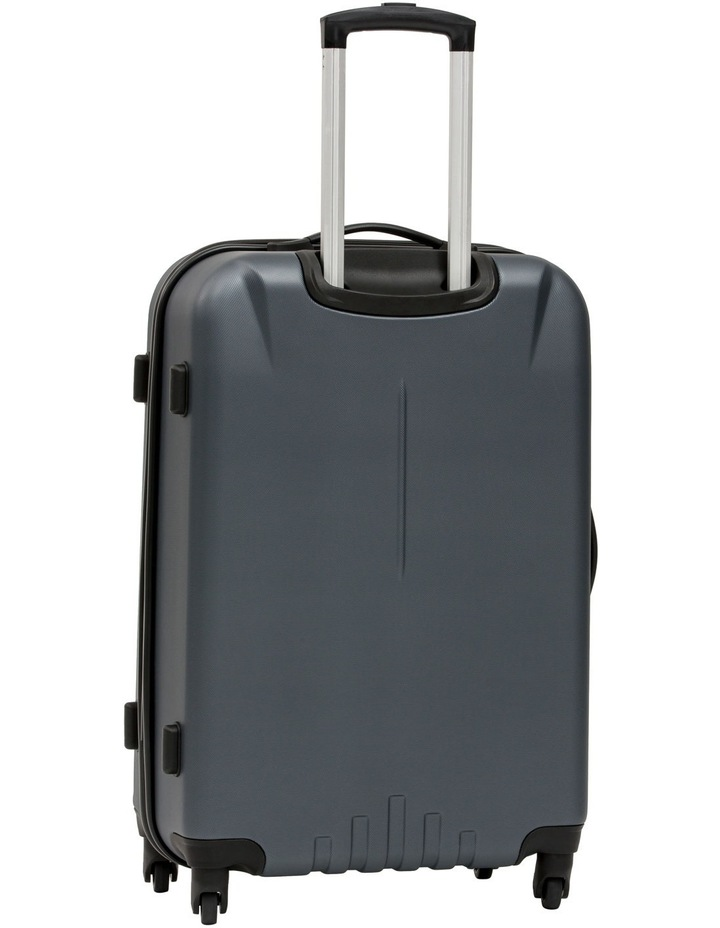 Quadlite Hardside Spinner Case Medium 72cm Charcoal 3.8kg image 3