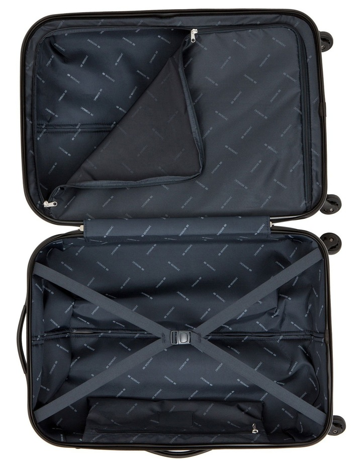 Quadlite Hardside Spinner Case Medium 72cm Charcoal 3.8kg image 4