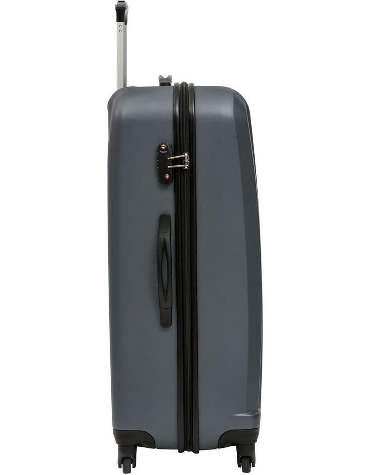 Quadlite Hardside Spinner Case Large 82cm Charcoal 4.7kg image 2