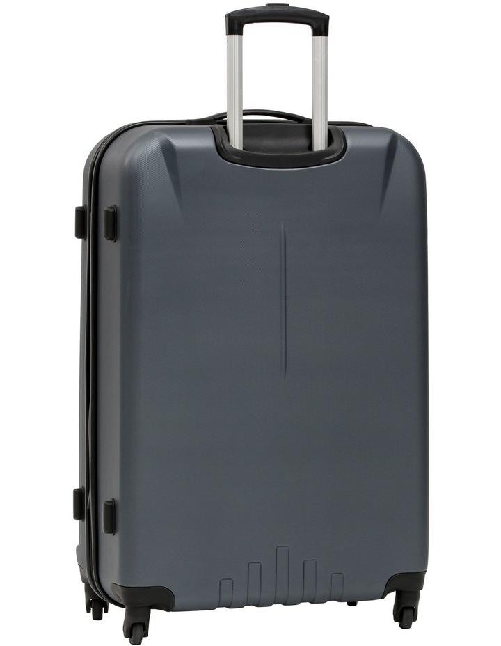 Quadlite Hardside Spinner Case Large 82cm Charcoal 4.7kg image 3