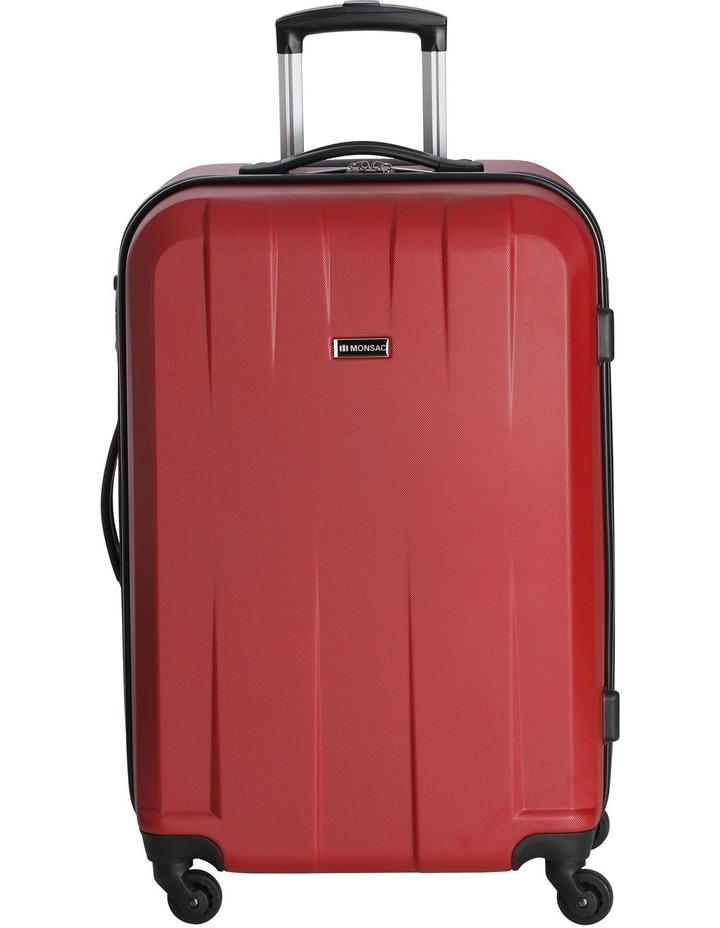 Quadlite Hardside Spinner Case Medium 72cm Red 3.8kg image 1