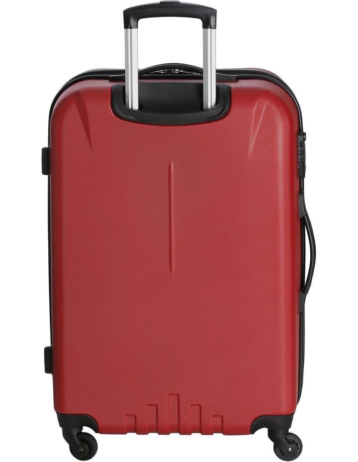 Quadlite Hardside Spinner Case Medium 72cm Red 3.8kg image 3