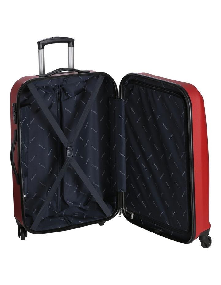 Quadlite Hardside Spinner Case Medium 72cm Red 3.8kg image 4