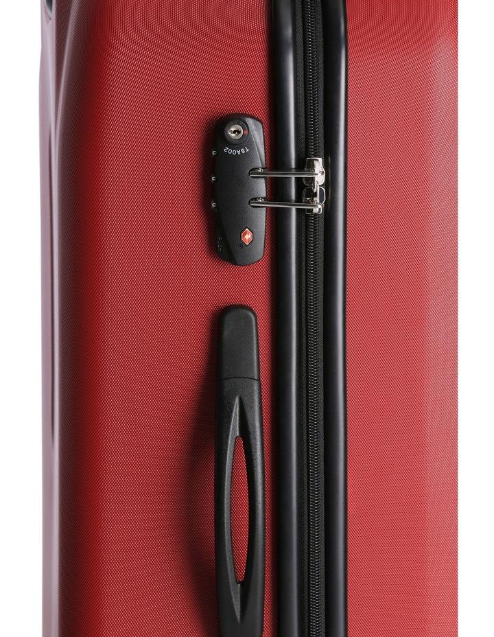 Quadlite Hardside Spinner Case Medium 72cm Red 3.8kg image 5