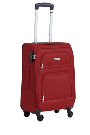 Monsac - Lite Flight 4W Roller Case Sml:56cm:Red 2.4kg