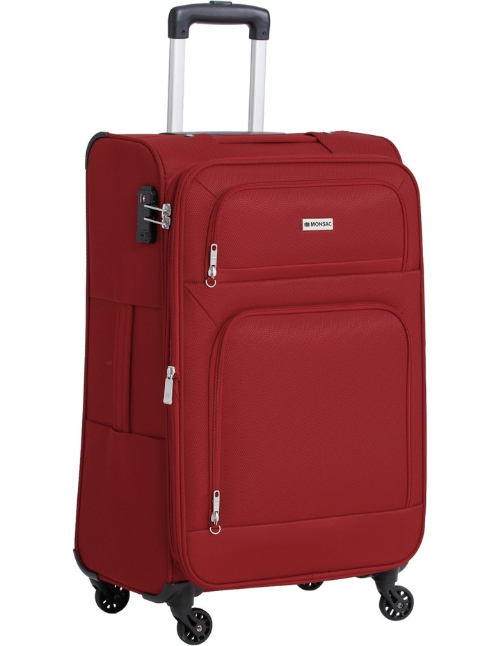 Lite Flight 4W Roller Case Med:67cm:Red 2.9kg image 1