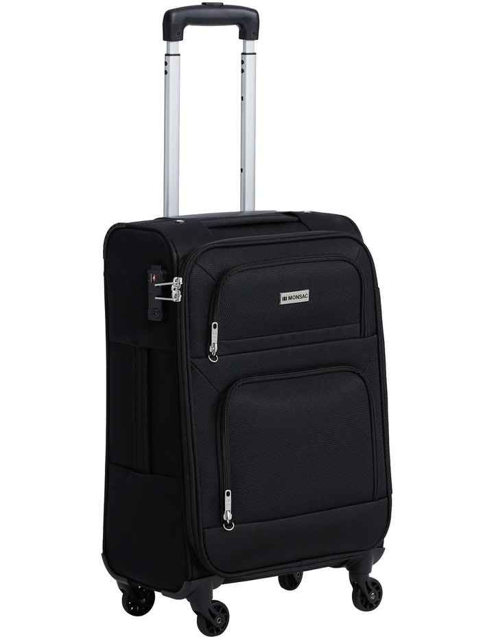 Lite Flight 4W Roller Case Sml:56cm:Black 2.4kg image 1