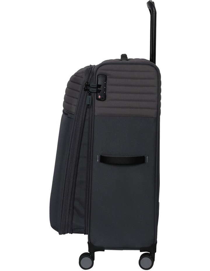 London Subsection Soft-Side Suitcase in Pewter - 80cm/3.4kg image 2