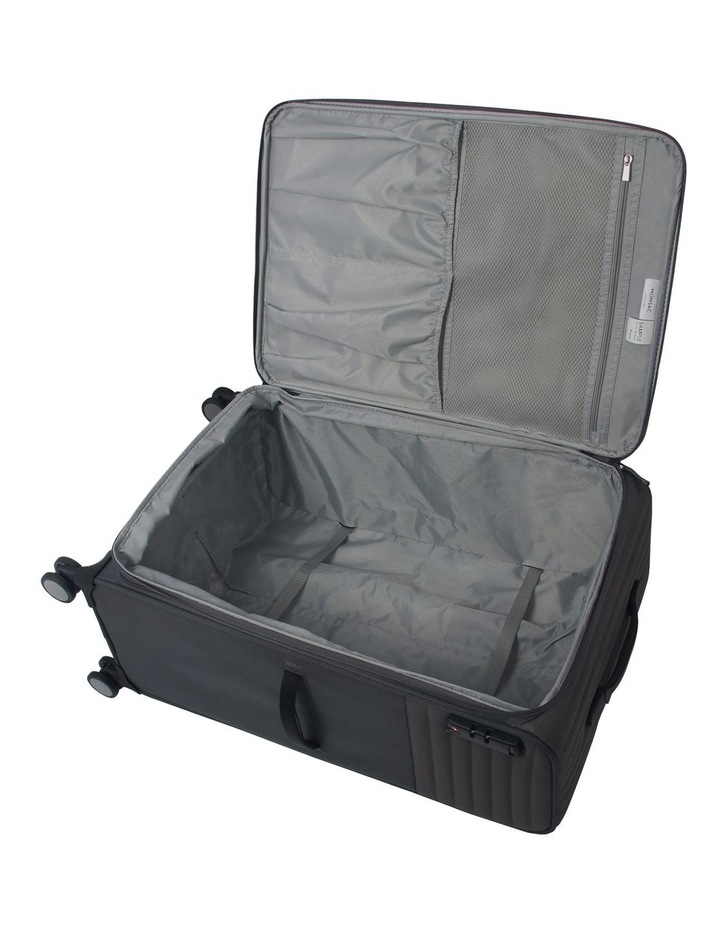 London Subsection Soft-Side Suitcase in Pewter - 80cm/3.4kg image 3