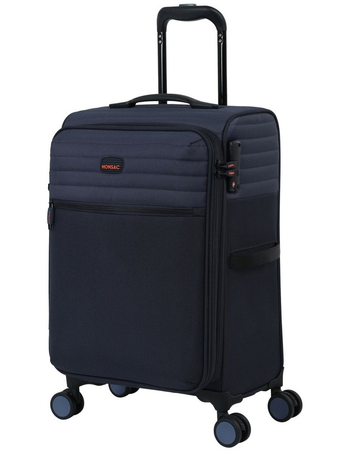 London Subsection Soft-Side Suitcase in Navy - 55cm/2.6kg image 1