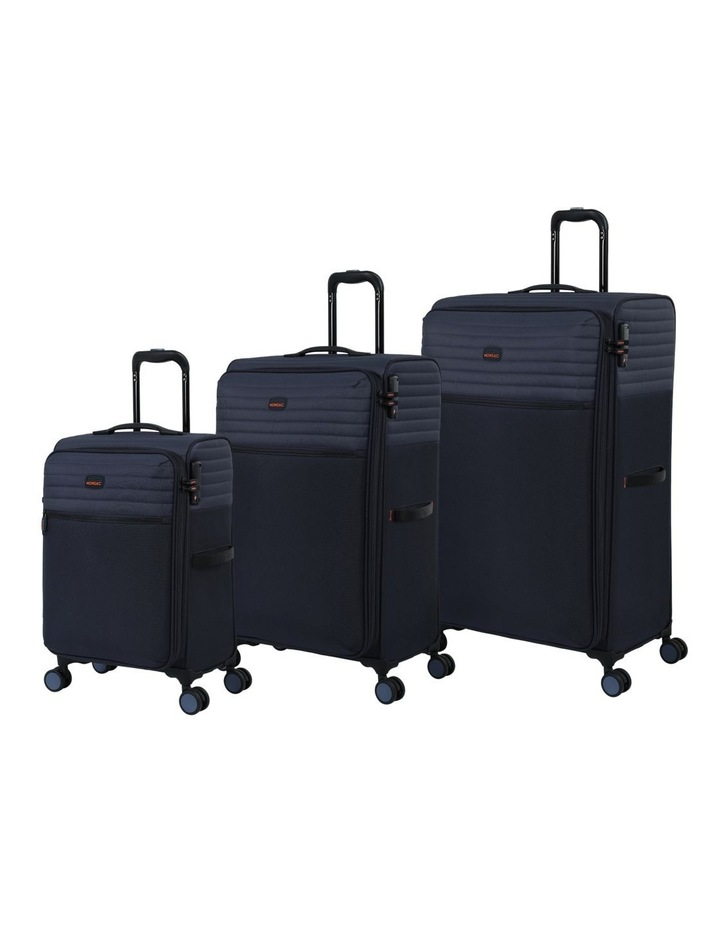 London Subsection Soft-Side Suitcase in Navy - 55cm/2.6kg image 7