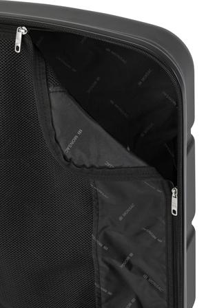 Monsac - Mercury Hardside Spinner Case Large 80cm Black 4.6kg