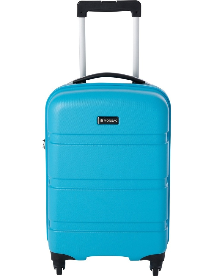 Mercury Hardside Spinner Case Small 56cm Turquoise 2.7kg image 1