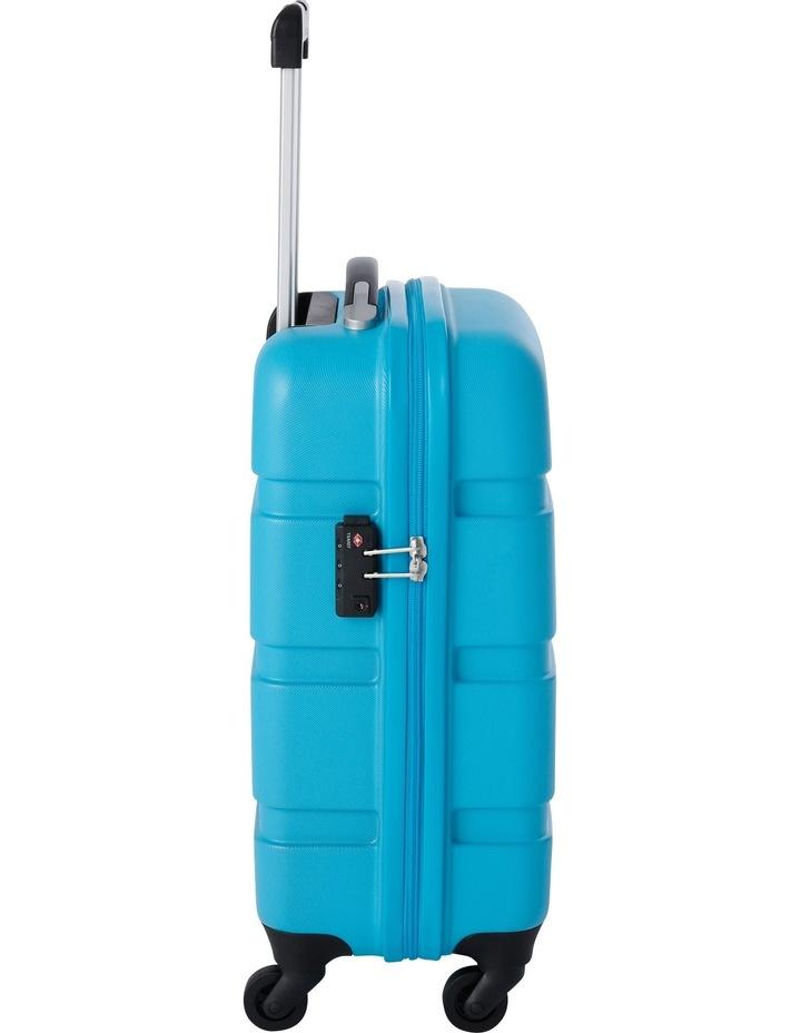 Mercury Hardside Spinner Case Small 56cm Turquoise 2.7kg image 2